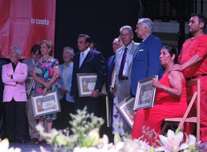 Los galardonados de la Velá 2013