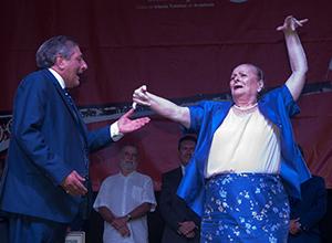 Matilde Coral y Javier Traverso