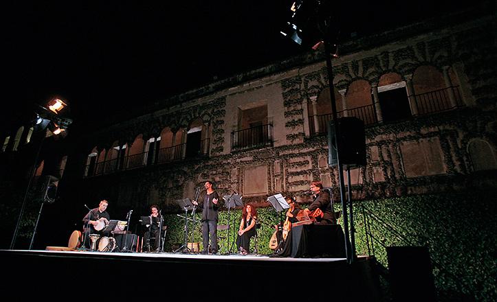 Los conciertos en los jardínes del Alcázar reúnen a casi 25.000 espectadores