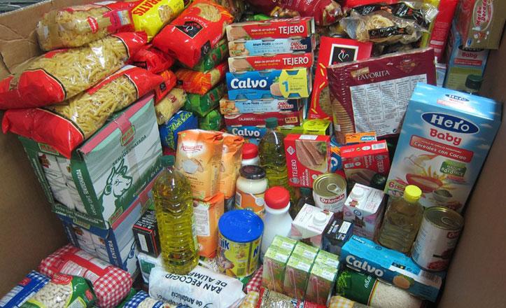 El distrito Sur ayuda con alimentos estas Navidades