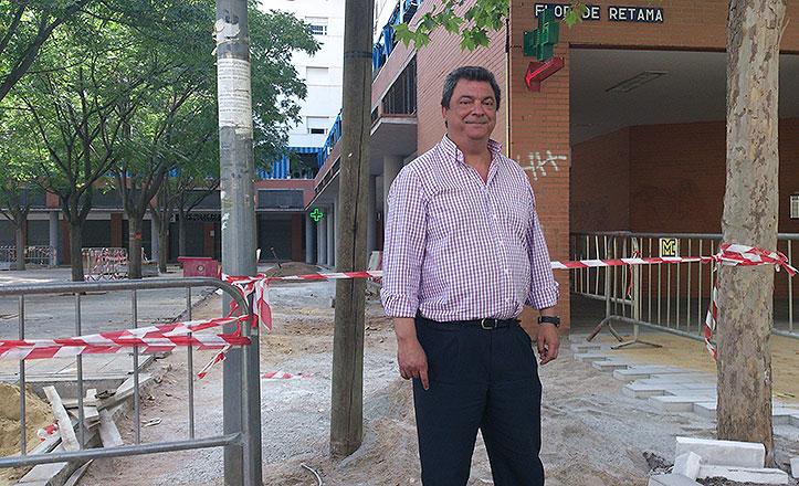 Flores: «A partir de mañana se reanudan las obras en Andalucía Residencial»