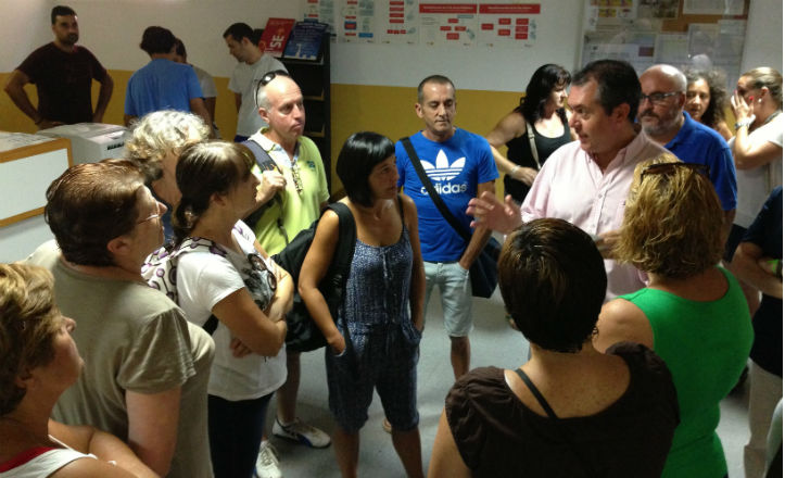 Espadas visita el Centro Deportivo Fundición