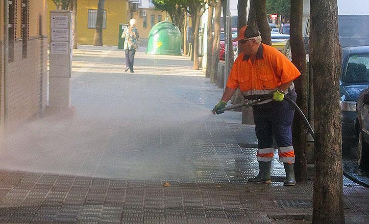 Finaliza el plan de apoyo para reforzar la limpieza en los barrios