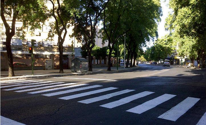Nuevo semáforo en el Distrito Sur