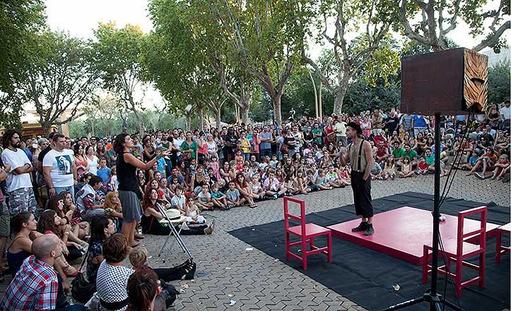 Festival Alamedeando en su cita de 2012