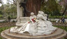 Teatro en el aniversario de Bécquer en el Parque María Luisa