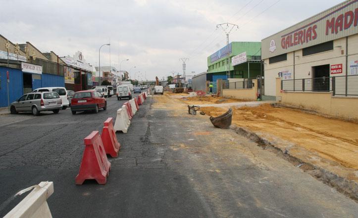 Comienza la segunda fase de las obras en la Avenida de la Prensa