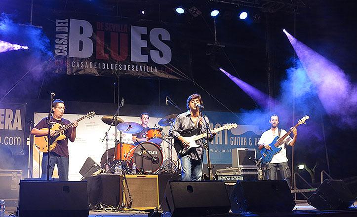 Vuelve el Festival de Blues con conciertos en el Salvador y el parque de Los Príncipes