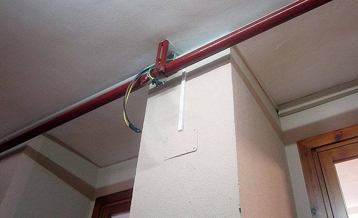 Instalación eléctrica colegio Picasso