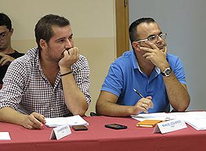 Los representantes del PSOE en la Junta Municipal del Distrito Norte