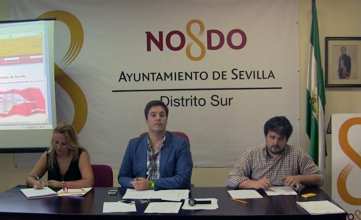 El Distrito Sur invierte 40.000 euros para mejoras en tres colegios