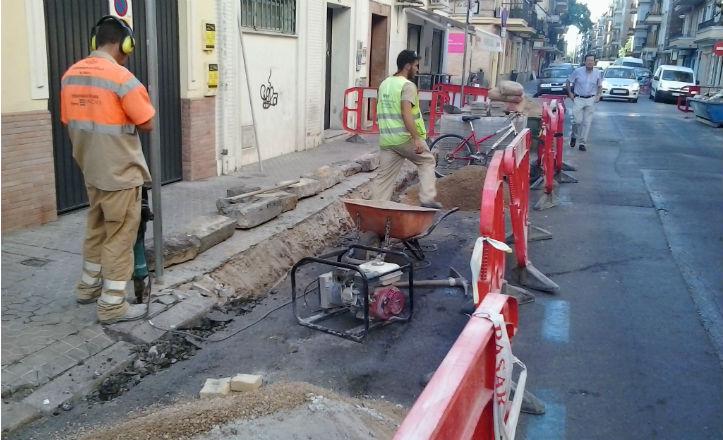 Obras en Montecarmelo