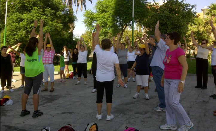 Paseo saludable en La Macarena