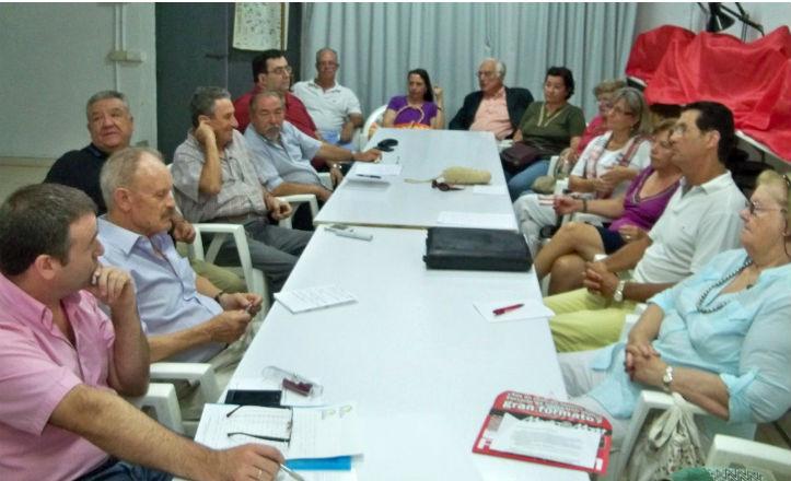 Reunión de la Plataforma de Parques y Jardines de Sevilla