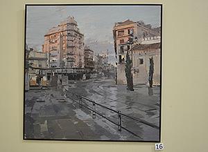 Obra ganadora del concurso de pintura del Ateneo