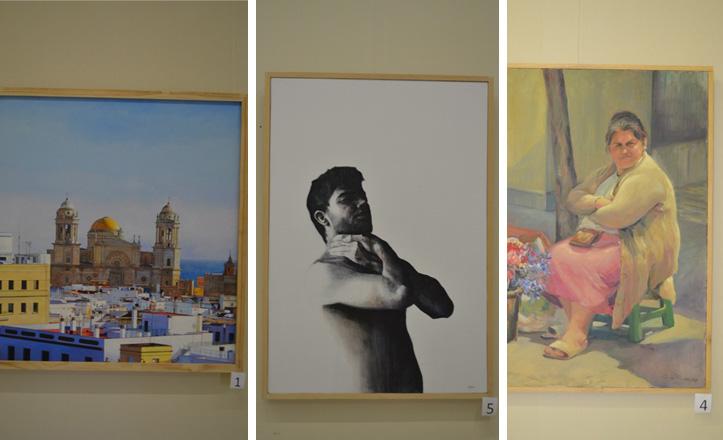 Obras participantes en el premio de pintura del Ateneo de Sevilla 2013