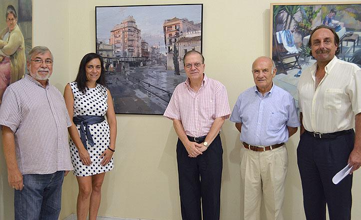 """Gonzalo Rodríguez Gómez gana el Concurso de Pintura Ateneo de Sevilla 2013 con su obra """"Tarde de noviembre en la Puerta de Jerez"""""""