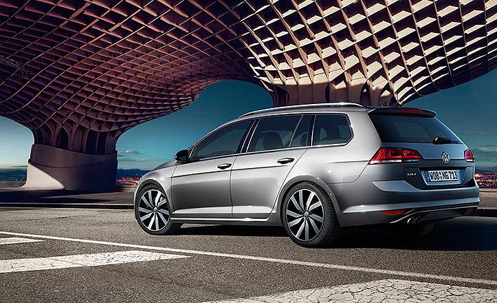 Anuncio de Volkswagen en las Setas de la Encarnación