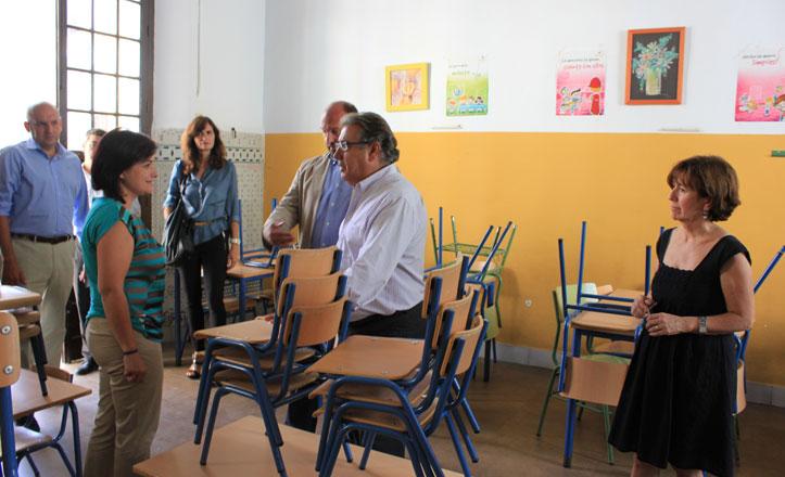 El colegio San Jacinto comienza el curso con una entrada «más segura»