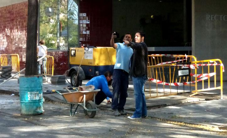Concluyen las obras en el acerado de la calle Tabladilla