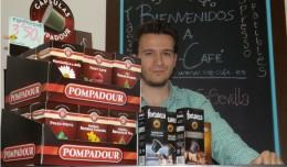 José Luis Ruiz, propietario de Cap-Café