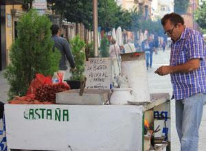 Castañas «made in Triana»