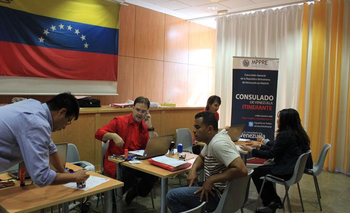 Los Remedios acoge por tercer año el Consulado Itinerante de Venezuela