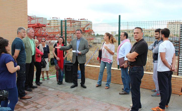 Espadas pide «recuperar la parcela» frente al Pabellón de San Pablo