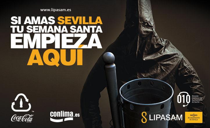 El «nazareno» de Lipasam, premio internacional de publicidad social