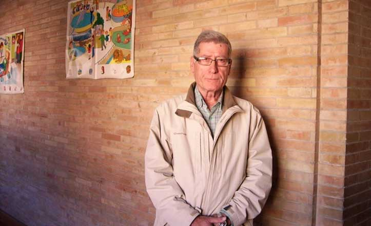Antonio Brajones, el inolvidable maestro del Colegio Santa Ana