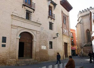 Fachada del palacio de los Marqueses de la Algaba