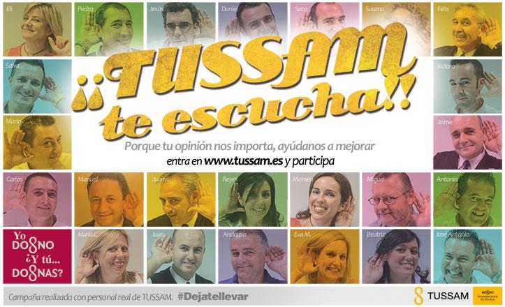 Tussam contará con la opinión de los ciudadanos para mejorar su servicio
