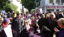 El Pedro Garfias emprende una «marcha contra la violencia de género»