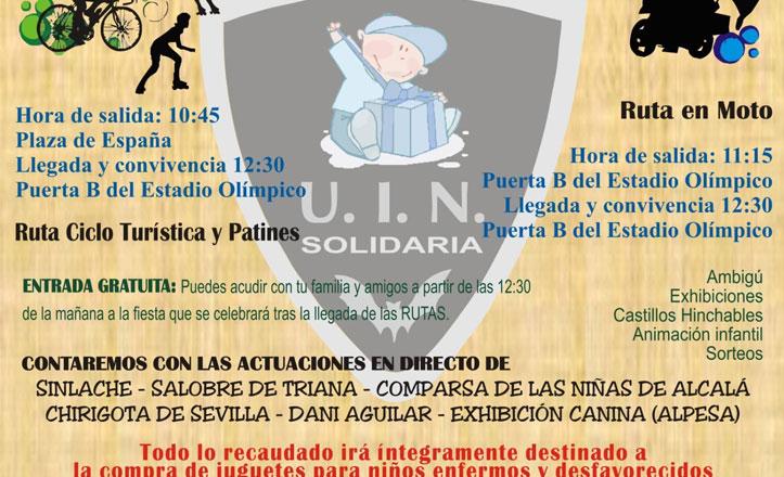 Evento solidario «Por la sonrisa de un niño»
