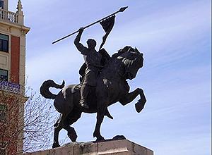Monumento al Cid en Valencia