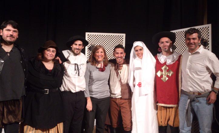 Éxito en la representación adaptada para los más pequeños de Don Juan Tenorio