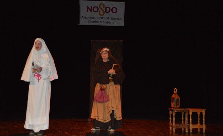 Don Juan Tenorio, en el Teatro Hogar Virgen de los Reyes