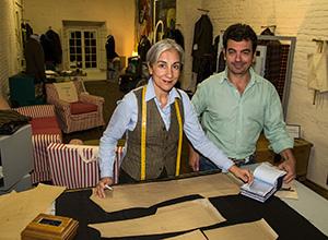 Ana O'Kean y Pablo de la Lastra