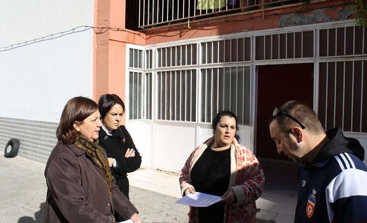 IU propone mejoras para la convivencia de los vecinos del «Parchís»