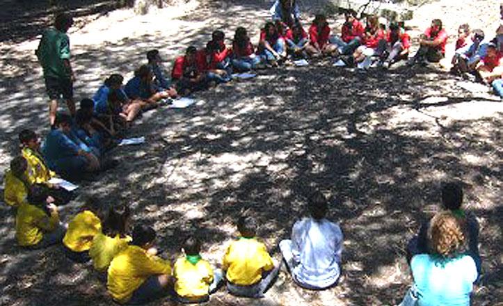 Los scouts «toman» el Parque de los Príncipes