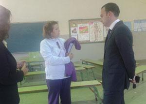 Mejoras en los centros educativos del distrito Bellavista-La Palmera