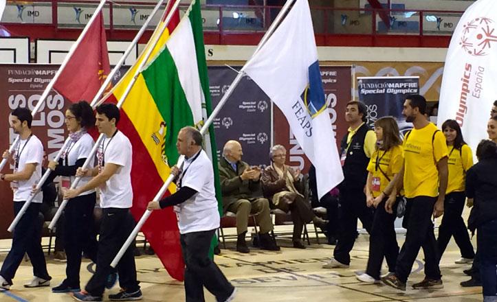 Special Olympics en el Centro Deportivo Amate