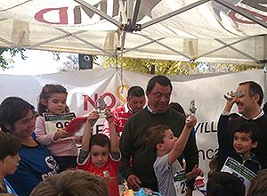 Ignacio Flores en la carrera solidaria