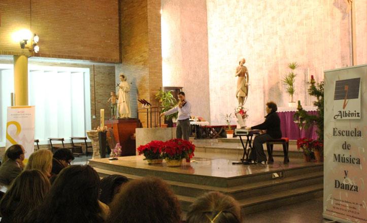 Un concierto de Navidad pone el colofón al otoño cultural de Los Remedios
