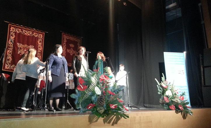 Éxito del concierto de Navidad del Distrito Nervión