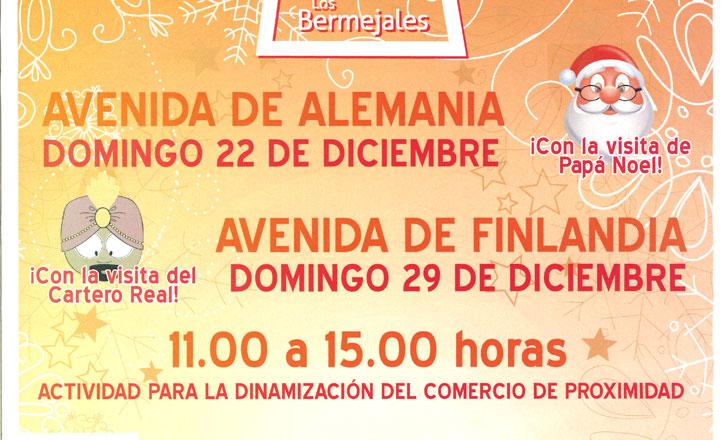 Mercado Arte y Diseño Los Bermejales especial Navidad