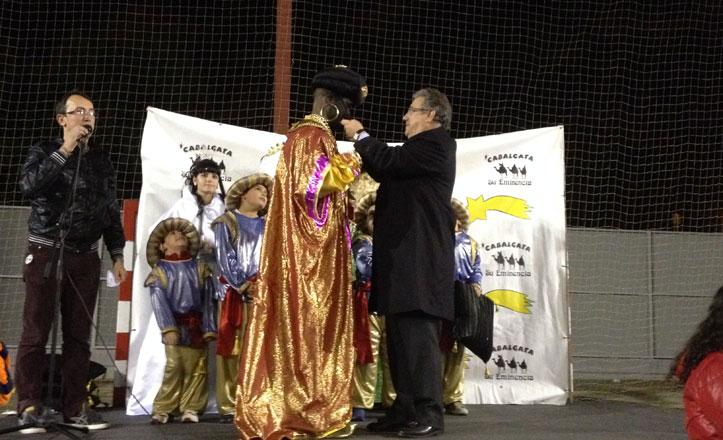 Coronados los Reyes Magos de Su Eminencia
