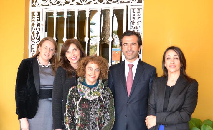 El cónsul de Portugal visita el St. Mary's School