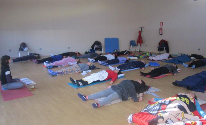 Yoga para evadirse de la rutina