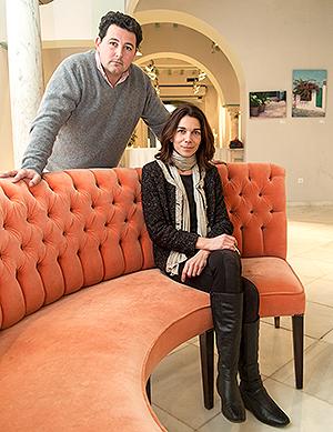 Alicia García y Pepe Rubio, responsables de La Libélula.